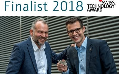 Finalist Swiss Technology Award 2018