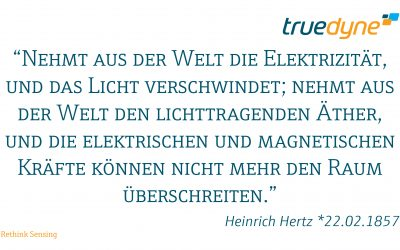 Heinrich Hertz *22.02.1857