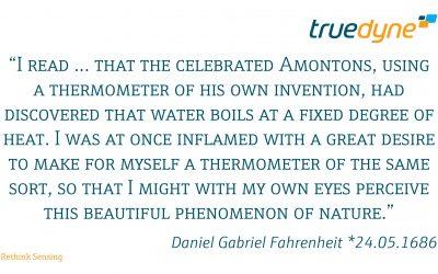 Daniel Gabriel Fahrenheit *24.05.1686
