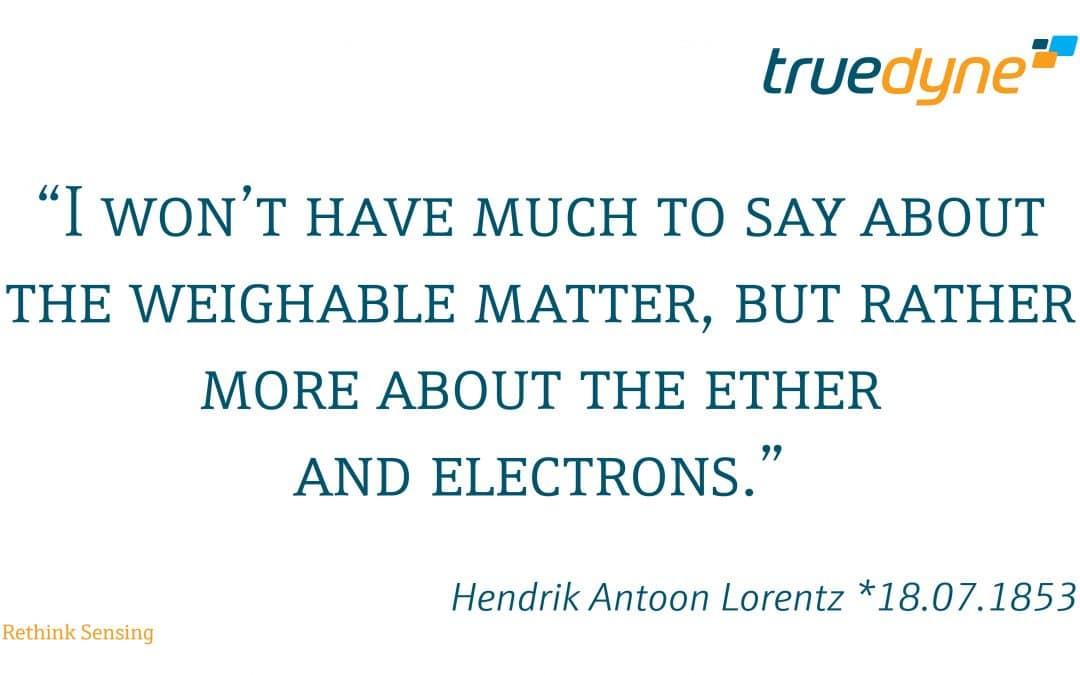 Hendrik Antoon Lorentz *18.07.1853