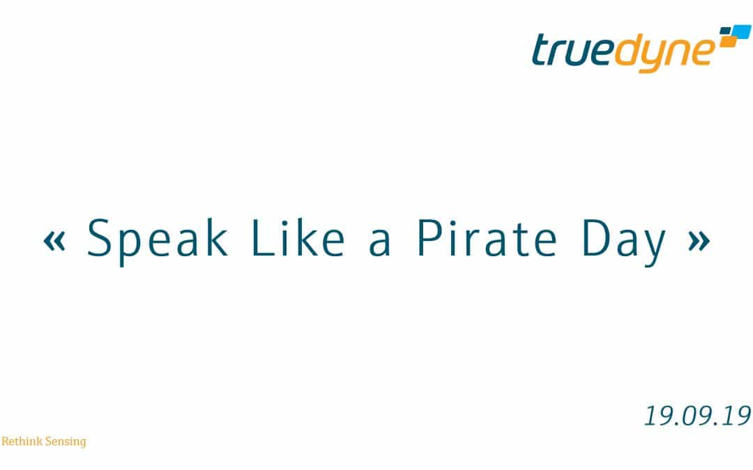 Speak Like a Pirate Day