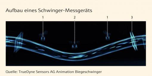 Grafik - Aufbau Schwinger-Messgerät