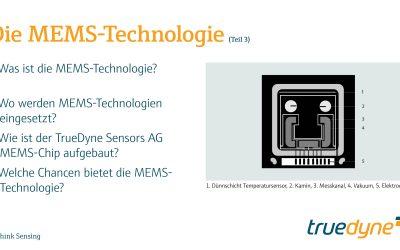 Teil 3 – Die MEMS-Technologie