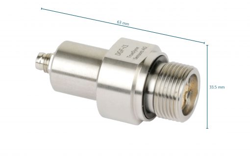 DGF-I1 density sensor with size indication